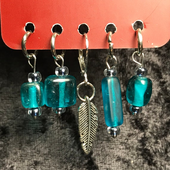 Feather Stitch Markers