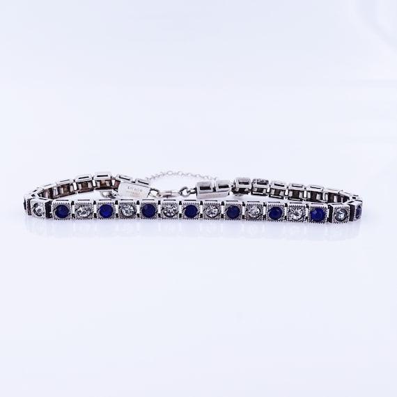 E. Frankin & Co Art Deco Tennis Bracelet - Sim Sap