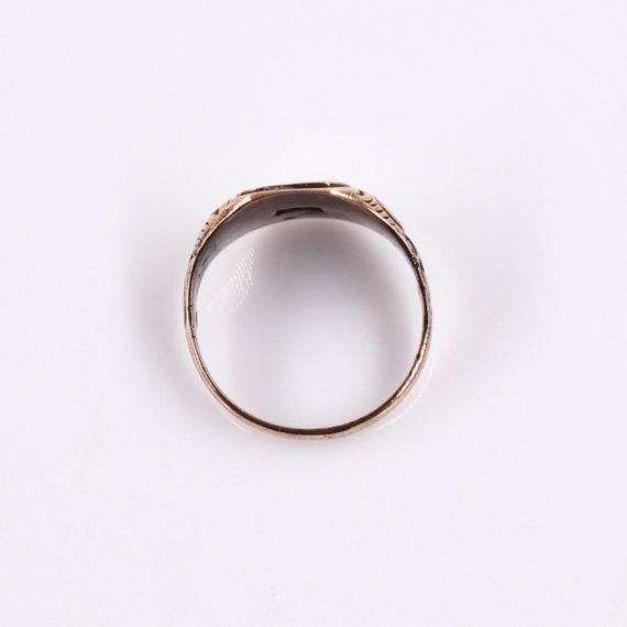 "Antique 14k Victorian Signet Ring ""CAA"", Antique,… - image 4"