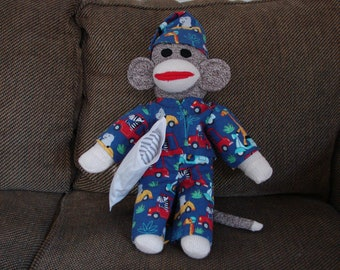 Sock Monkey Beppo Heritage-Style Charming