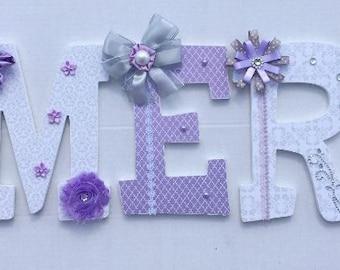 Custom Nursery Wall Letters