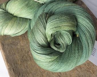Turquoise MerinoSilk Handspun Yarn 95g150yds