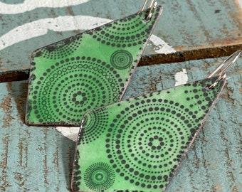 Boho Earrings, Dangle Earrings, Mandala Earrings, Handmade Earrings, Gift For Friend