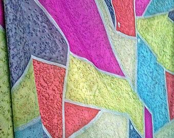 Original Silk Yardage Wall Hanging Art Belly Dance Veil