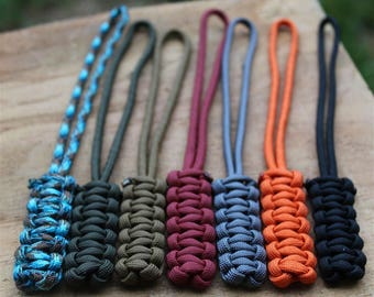 Cobra Stitch Paracord Lanyard with Loop