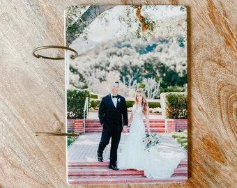 Wedding engagement Family Baby Custom Photo Acrylic Greeting Card Keeper Holder Wedding encouragement baby kid adoption family Gift