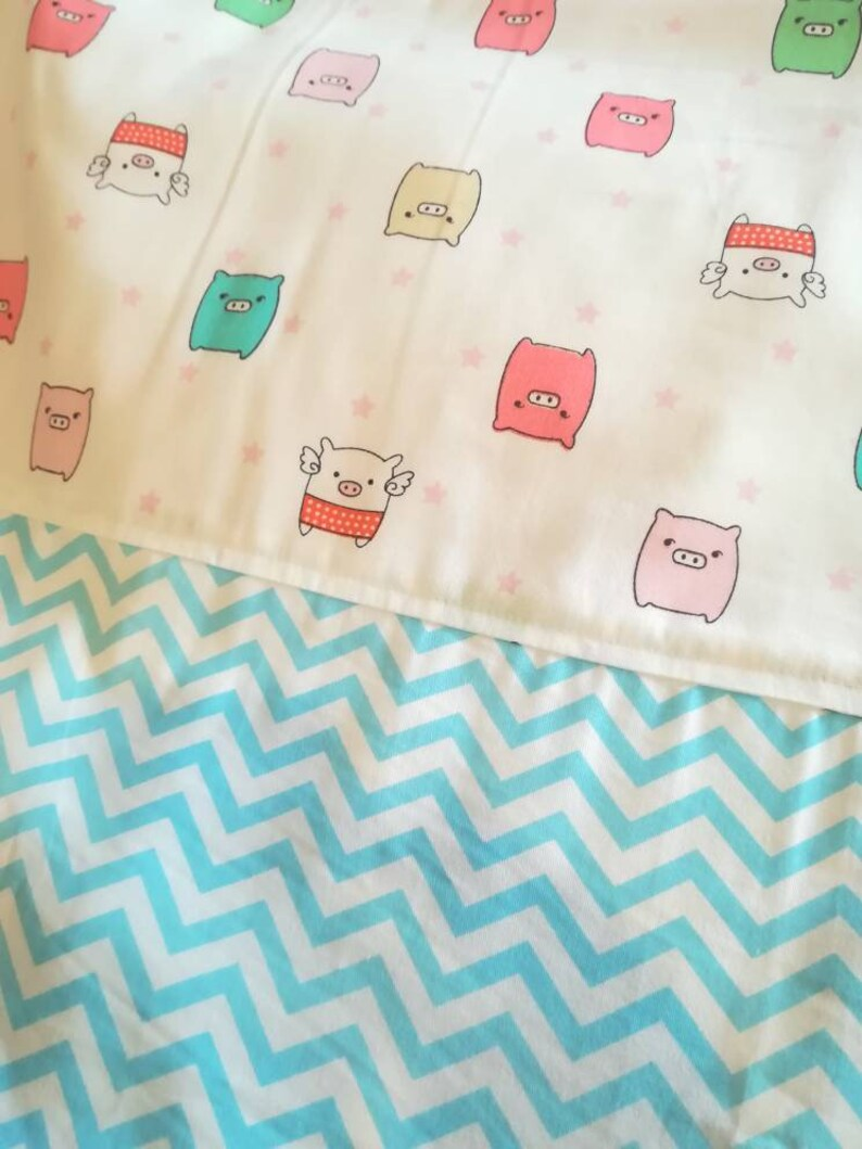 Baby blanket  Flannel Blanket  Summer blanket  Baby girl image 0
