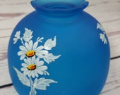 WESTMORELAND Daisy Decal Blue Mist Fairy Lamp Shade