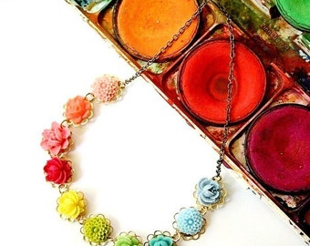 Color Wheel Necklace