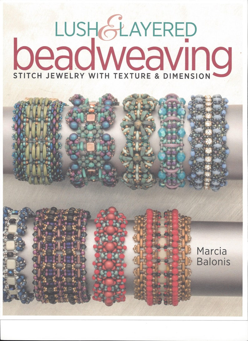 Autographed for you Lush and Layered Beadweaving book by image 0