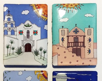 Southwest Mission Churches Magnet Set