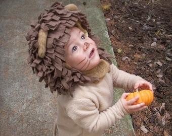 Lion Costume, Toddler Boy Halloween Costume, Toddler Girl Costume, kids Costume, Complete Children's Costume