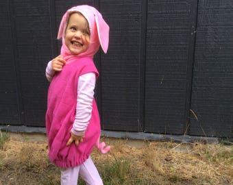 Piglet costume Winnie The Pooh kids Halloween costume pink pig 43718af6f