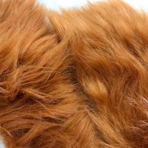 Fabric scraps Faux fur fabric Vintage Soviet