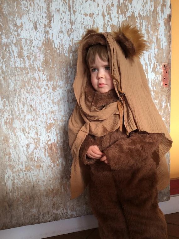 ewok kids costume halloween costume for boys or girls toddler etsy