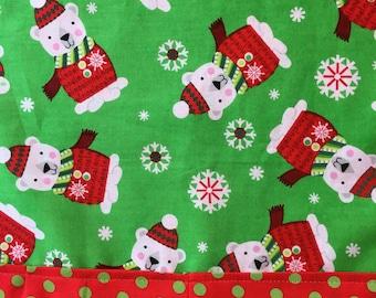 Polar Bear Christmas Table Runner * Christmas Gift