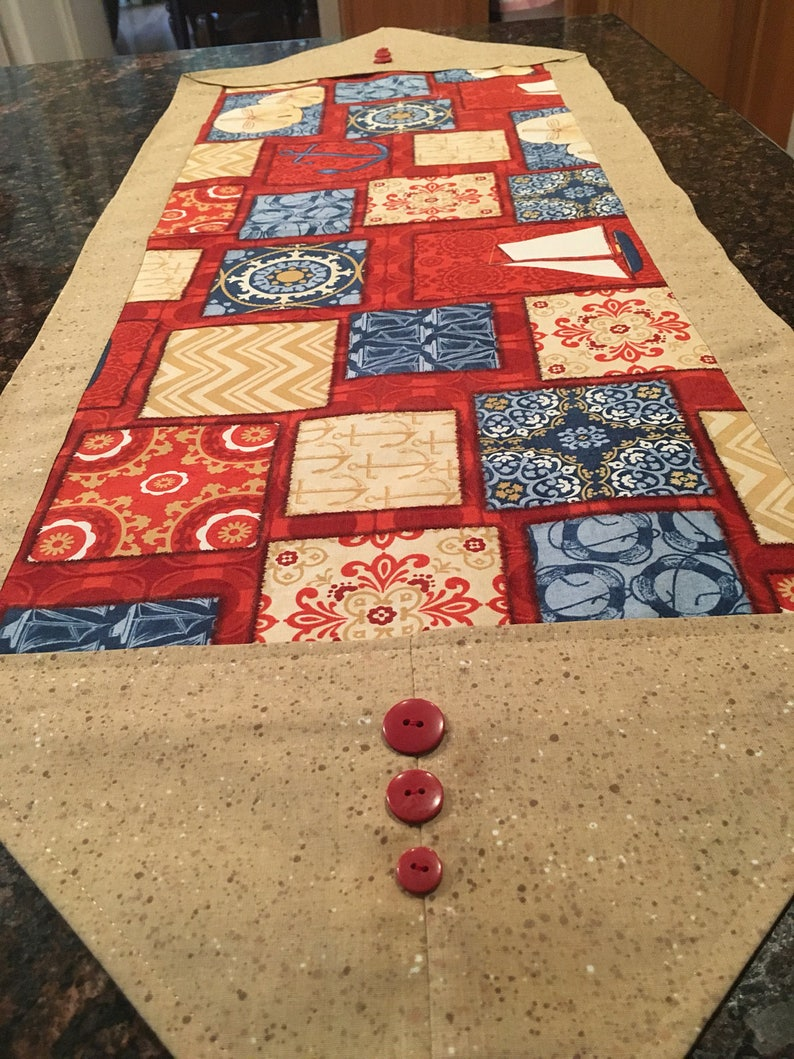 Nautical Piecework ** Gift for Mothers Day Runner
