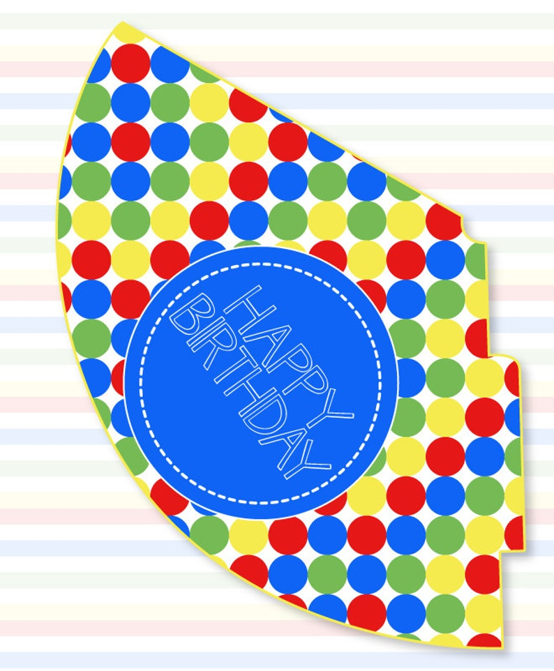 graphic about Printable Birthday Hat referred to as Sesame Highway Bash PRINTABLE Birthday Hat (Instantaneous Down load) via Enjoy The Working day