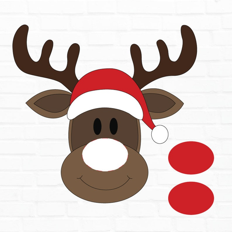 picture about Pin the Nose on Rudolph Printable known as Pin The Nose Upon Rudolph Clroom Get together Video game PRINTABLE by way of Take pleasure in The Working day