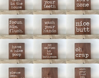 bathroom signs etsy rh etsy com