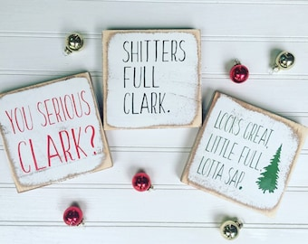 Christmas Vacation Sign Ornament