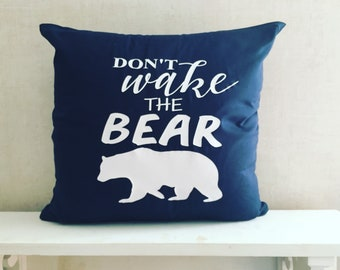 Don't Wake The Bear | Rustic Nursery | Rustic Bedroom | Baby Bear | Primitive Nursery Decor | Woodland Nursery