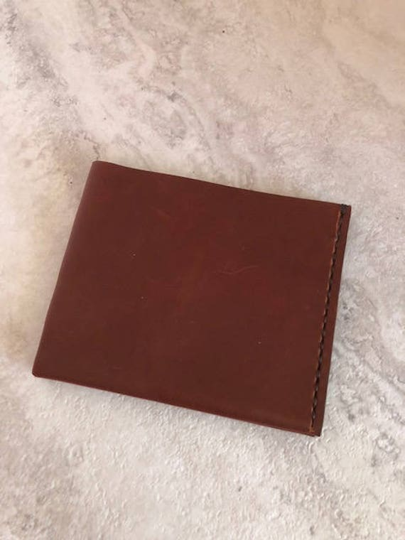 Handmade Brown Lasaro Modern Leather Wallet