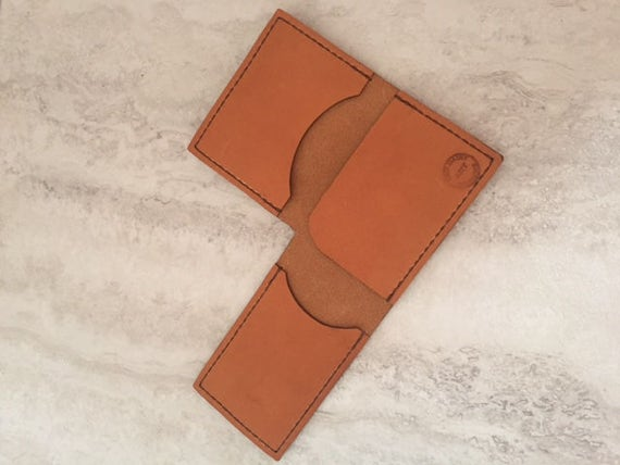 Leather Handmade Wallet L-Shaped