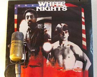 "White Nights Vinyl Record Album LP 1980s Taylor Hackford Soviet Defector Dancer Baryshnikov ""White Nights"" (RARE SEALED record club 1985)"