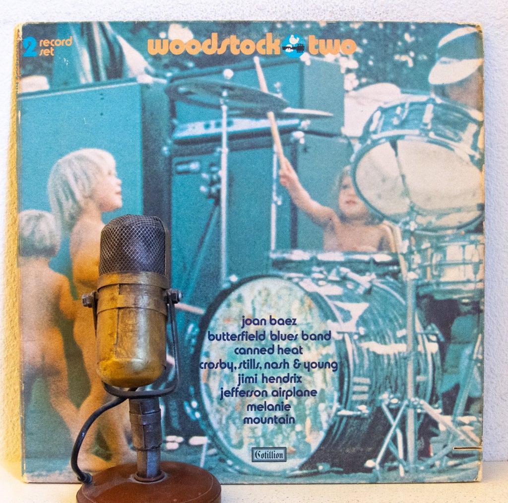 Jimi Hendrix Jefferson Airplane Woodstock Vinyl Record