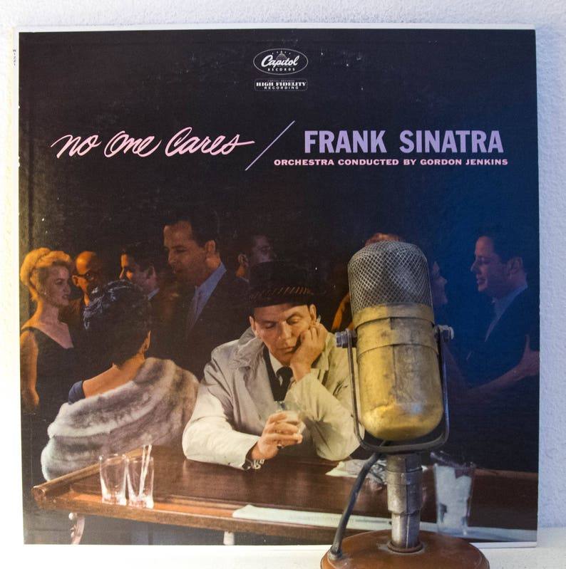 7db0b1fee49 Frank Sinatra No One Cares Vinyl Record Album LP