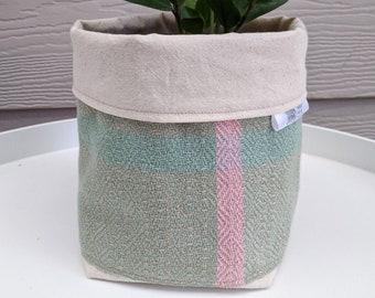 Vintage Weave Planters - choose your colour