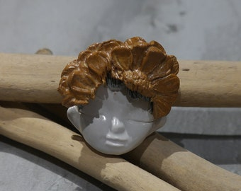 lutin en ceramique feerique  ceramic pixie dools fairy