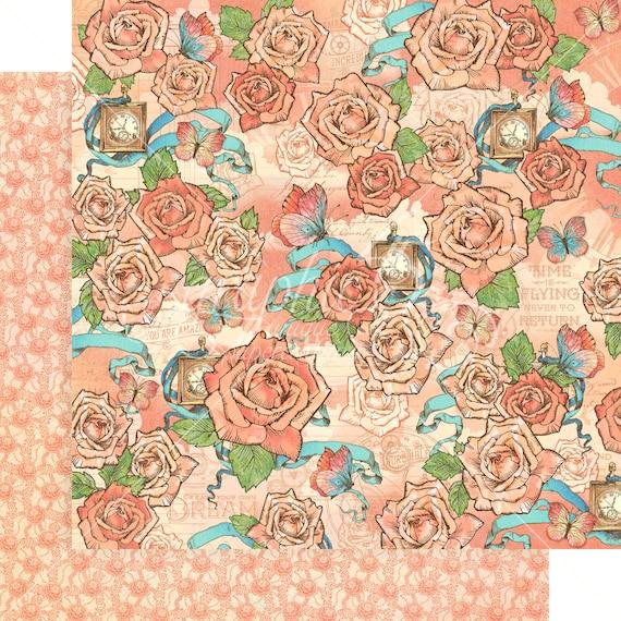 GRAPHIC 45 ~ IMAGINE ~ 8x8 Paper Pad