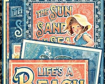 Graphic 45 Sun Kissed Ephemera Cards