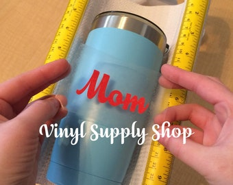 Hands Free Cup Cradle Crafting Base for Helping Apply Sticky Vinyl Decals to Tumblers, Mug Holder Craft Stand, Custom Made Crafter's Gift