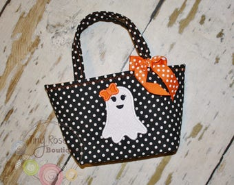 Halloween Pumpkin Trick Or Treat Tote Bag Baby S First Etsy