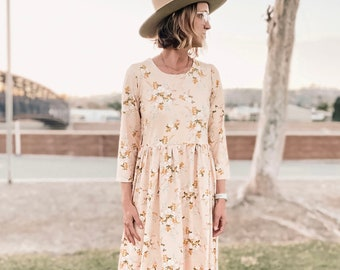 INSTANT DOWNLOAD- Women's Cassidy DressPDF Sewing Pattern & Tutorial