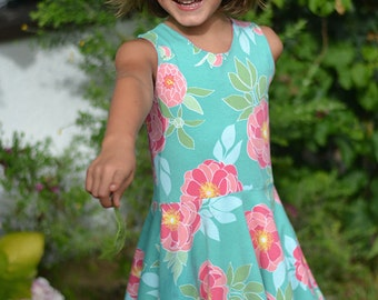 INSTANT DOWNLOAD- Juliet Dress (Sizes 12/18M to Size 10) PDF Sewing Pattern and Tutorial