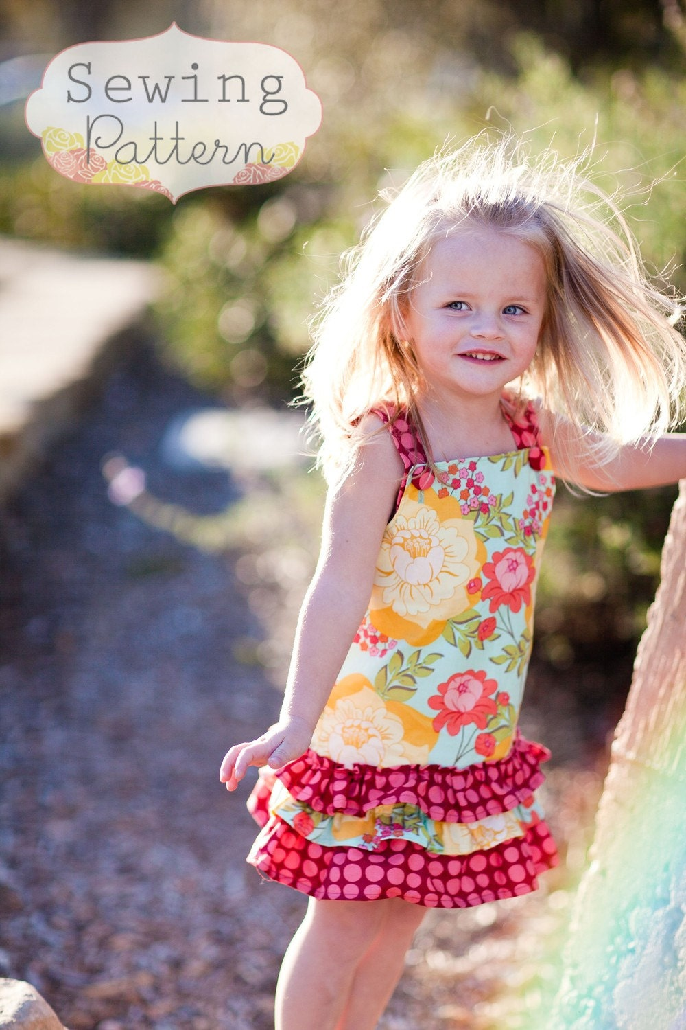 instant download hayden dress sizes 6 months to 6 sewing