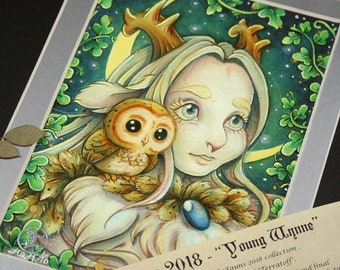Princess Wynne - Limited Edition Print - Hand Embellished