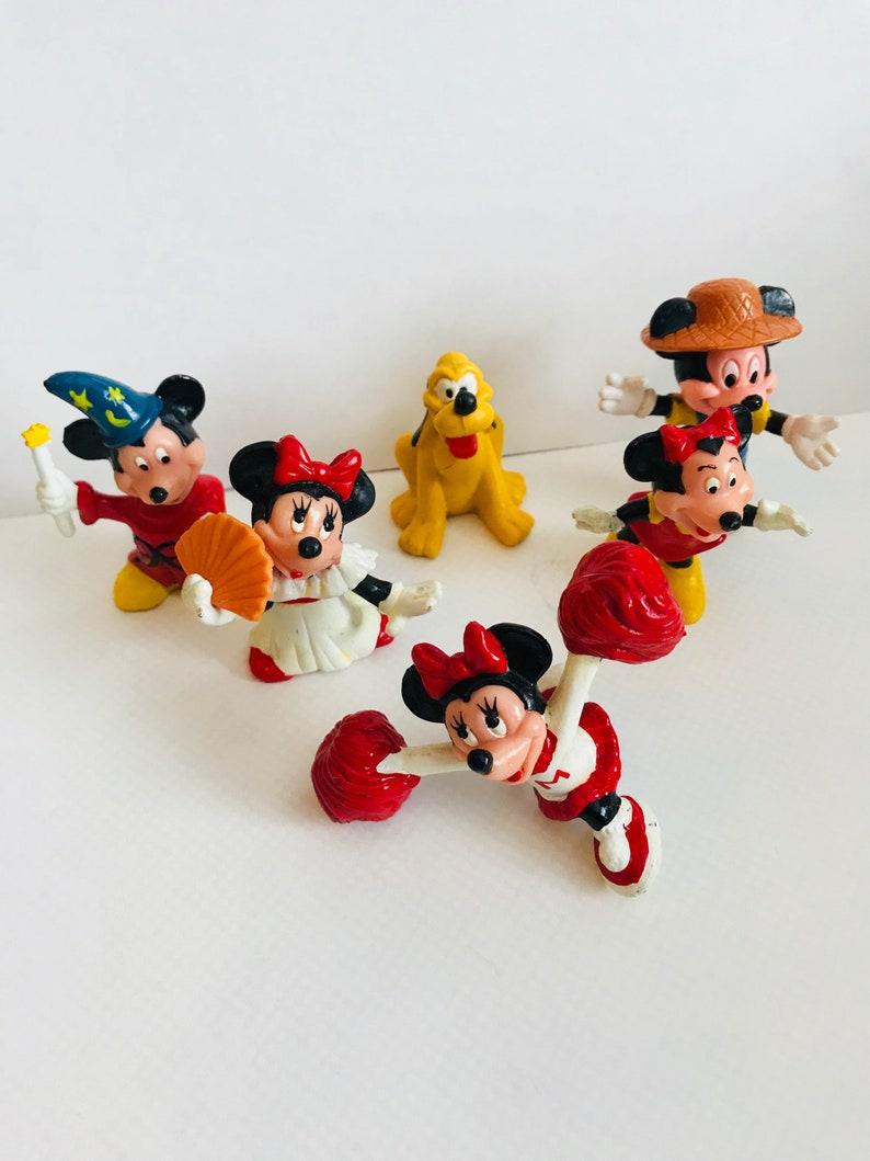 Pvc Disney Mouse Minnie Gâteau Mickey Jouet DisneyVintage Et BeaucoupDe Figurine Figurines xodBCe