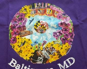 We Are Baltimore artist tshirt