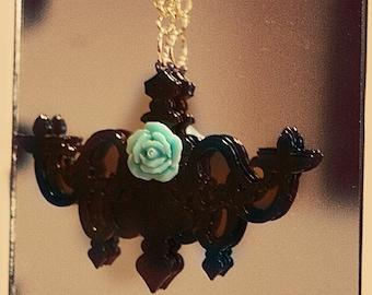 Retro Chandeliers Necklace