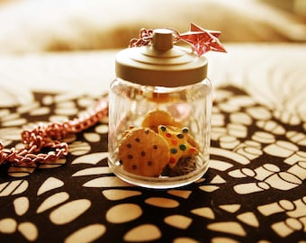 Cookies in a Jar Necklace