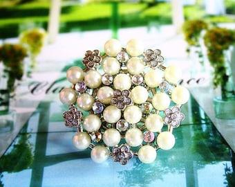 Bubble bouquet ring