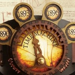 Steampunk Time Machine Lamp for Cosplay Belts and Costumes