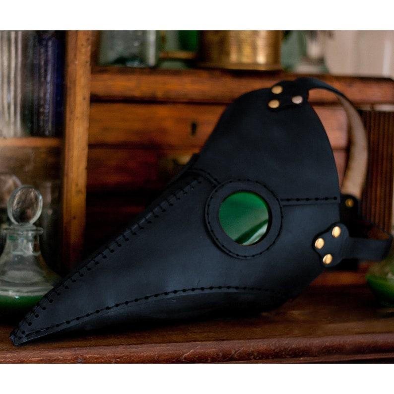 Plague Doctor Mask Pattern PDF Digital Download image 0