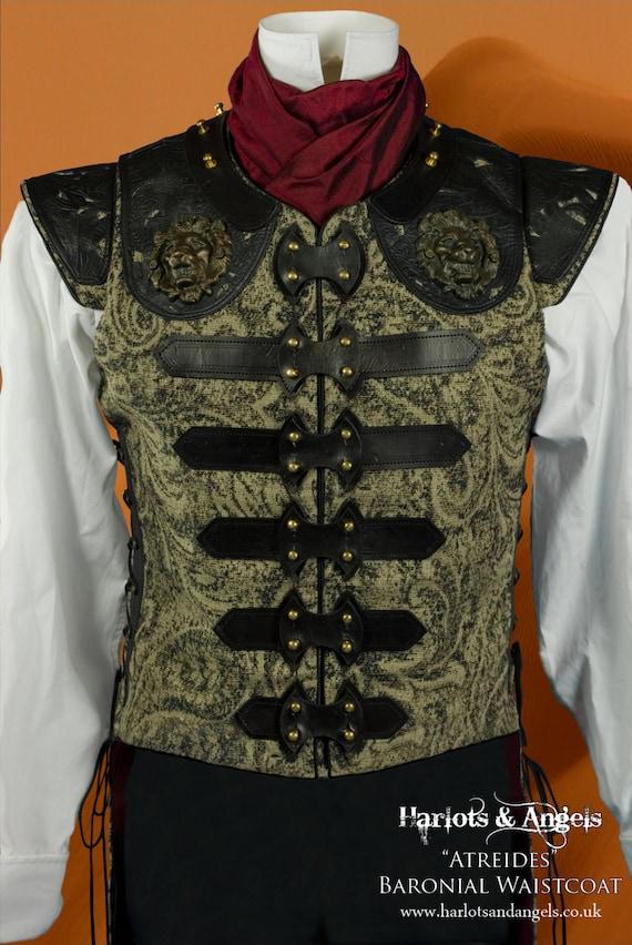Steampunk Sewing Pattern for Men Vest Waistcoat Tailcoat. PDF | Etsy