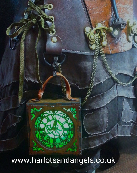 Larp Larping One only Steampunk Lamp Lantern unusual Christmas Gift